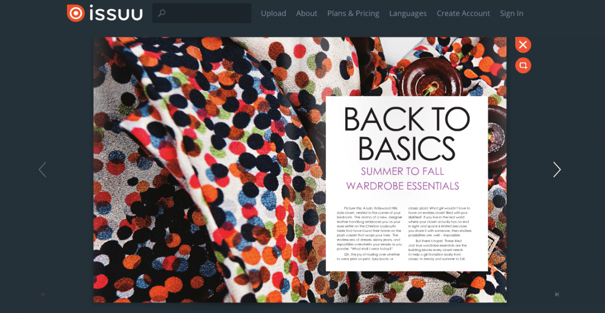 Created Woman Online Fashion Magazine