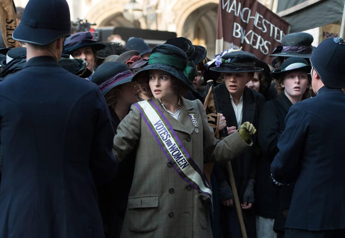 Helena Bonham Carter stars as Edith Ellyn director Sarah Gavron's SUFFRAGETTE, a Focus Features release. Credit : Steffan Hill / Focus Features