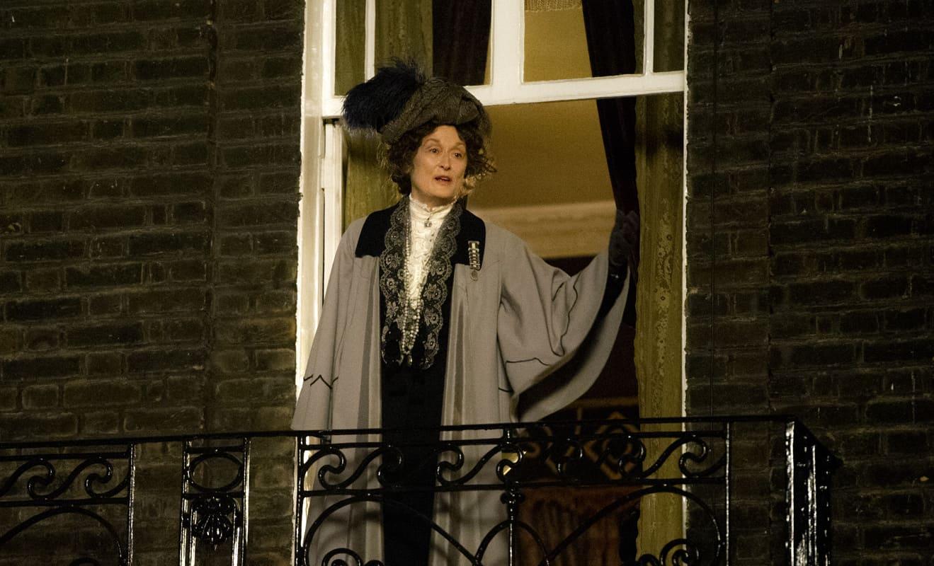 Meryl Streep stars as Emmeline Pankhurst in Sarah Gavron's SUFFRAGETTE, a Focus Features release. Credit: Steffan Hill Focus Features