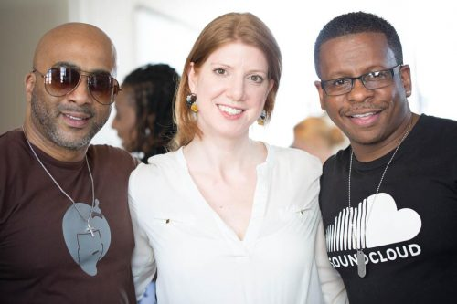 Michelle Pajak-Reynolds with SMEG Savvy Marketing at the NOLCHA Fashion Week event.
