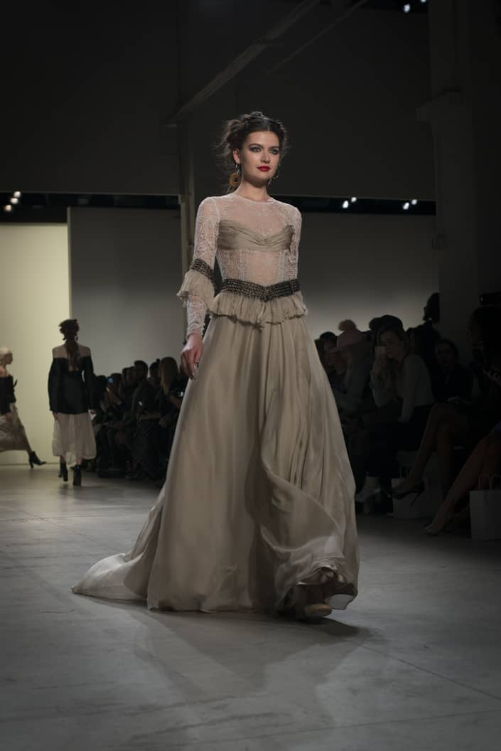 Leanne Marshall 2017 Fall/Winter NYFW Collection.