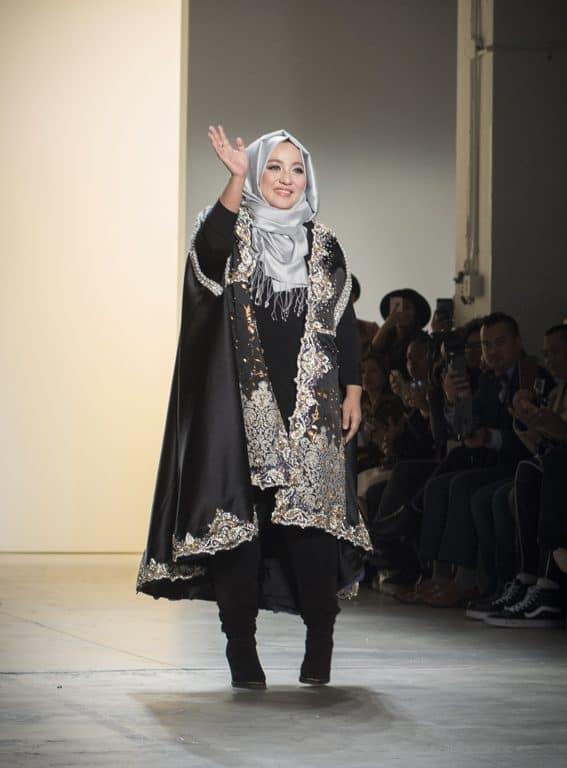 Anniesa Hasibuan at New York Fashion Week. Photo by Patrick Hovan.